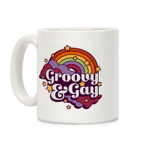 Groovy & Gay Coffee Mug