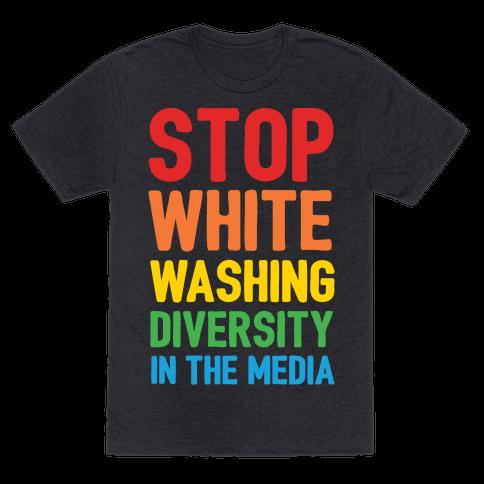 Stop Whitewashing Diversity In The Media White Print