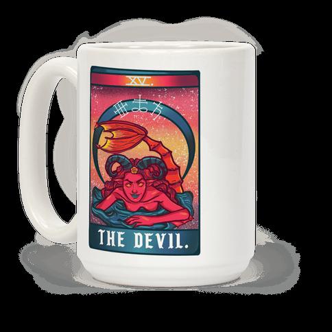 The Devil Siren Tarot Coffee Mug