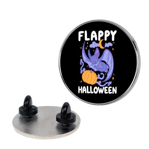 Flappy Halloween Bat Pin
