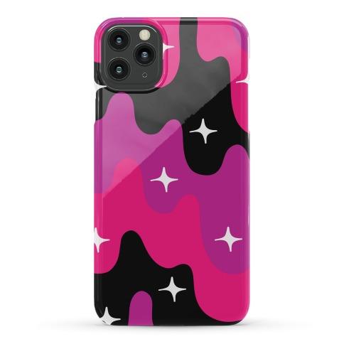 Euphoric Sparkle Drip Pattern Phone Case