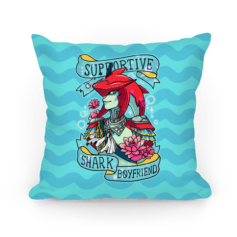 Prince Sidon: Supportive Shark Boyfriend Pillow