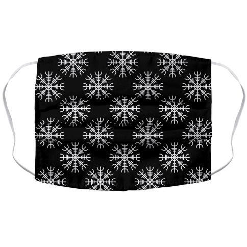 Helm of Awe Accordion Face Mask