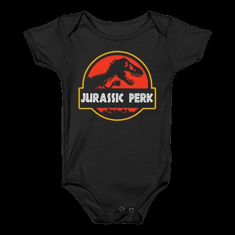Jurassic Perk Baby Onesy