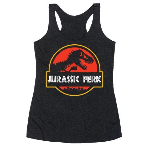 Jurassic Perk Racerback Tank Top