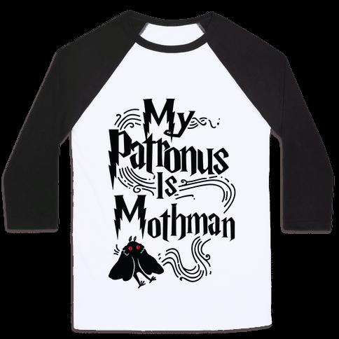 My Patronus is Mothman Baseball Tee