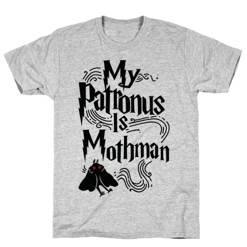 My Patronus is Mothman Mens T-Shirt