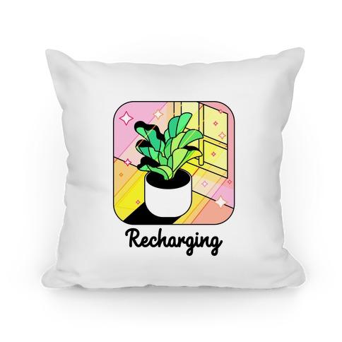 Recharging Plant Pillow