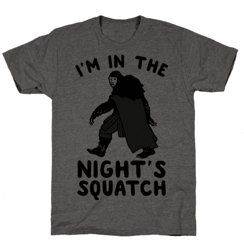 I'm In The Night's Squatch