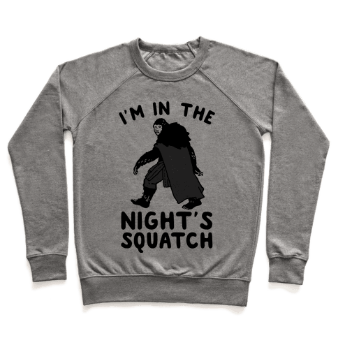 I'm In The Night's Squatch Pullover