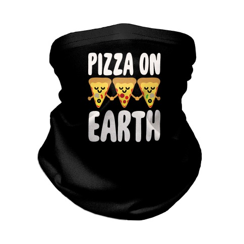 Pizza On Earth Neck Gaiter