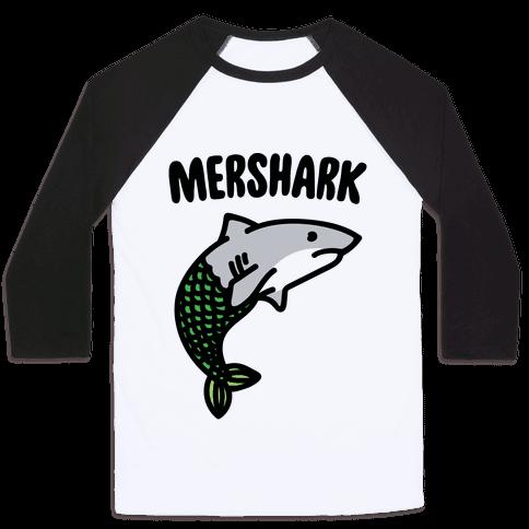 Mershark Parody Baseball Tee