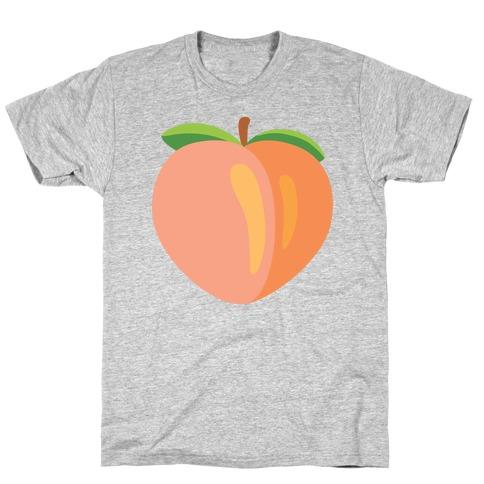 Eggplant/Peach Pair (Peach) T-Shirt