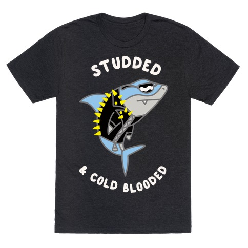 Studded & Cold Blooded T-Shirt