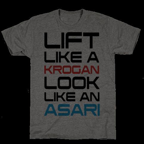 Lift Like A Krogan Look Like An Asari