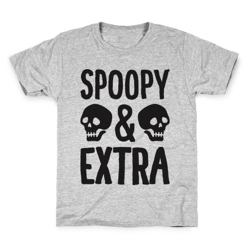 Spoopy & Extra Kids T-Shirt