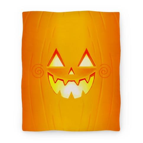 Jack-o-lantern Blanket
