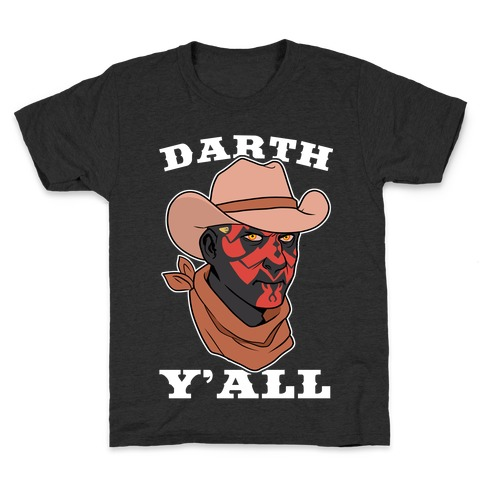 Darth Y'all Kids T-Shirt