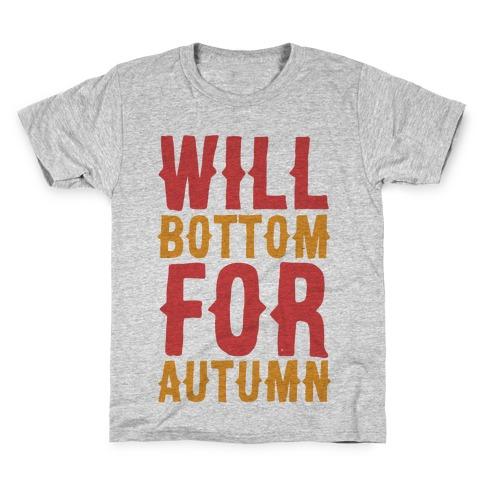 Will Bottom for Autumn Kids T-Shirt