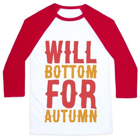 Will Bottom for Autumn Baseball Tee