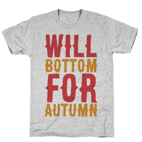 Will Bottom for Autumn T-Shirt