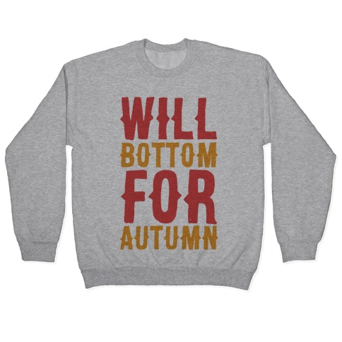 Will Bottom for Autumn Pullover
