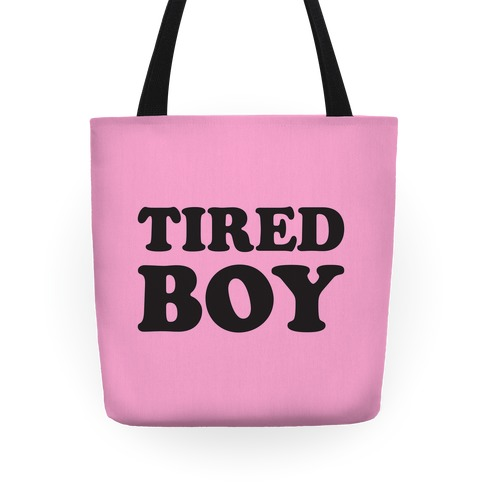 Tired Boy Tote