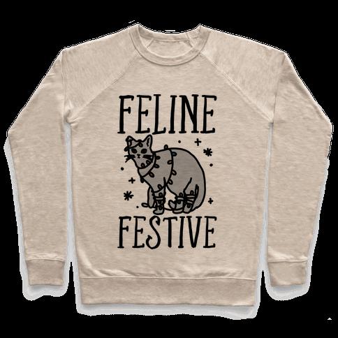 Feline Festive  Pullover