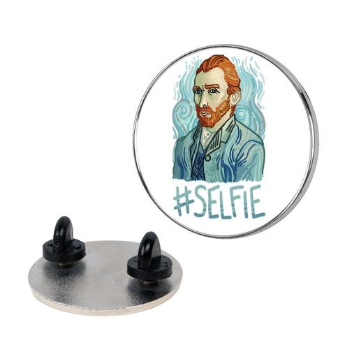 Van Gogh Selfie Pin