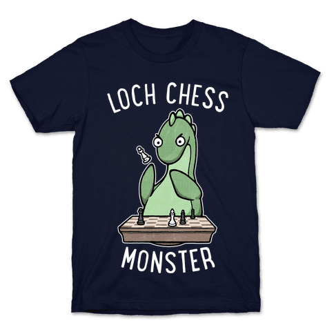 Loch Chess Monster Mens/Unisex T-Shirt