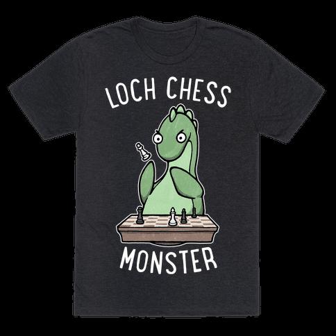 Loch Chess Monster Mens/Unisex T-Shirt
