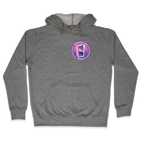 Genderfluid Pride Patch Hooded Sweatshirt