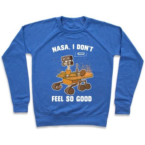Nasa, I don't feel so good... Pullover