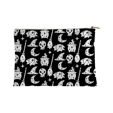 Sparkle Witch Pattern Accessory Bag