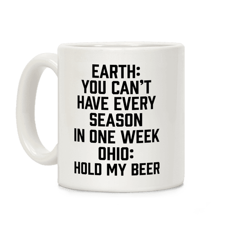 Every Season In One Week Ohio Coffee Mug