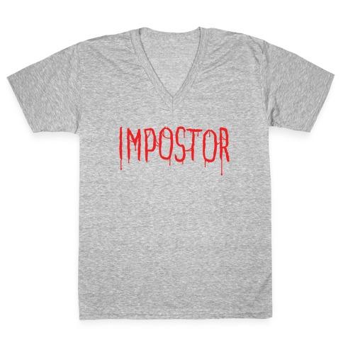 Imposter V-Neck Tee Shirt