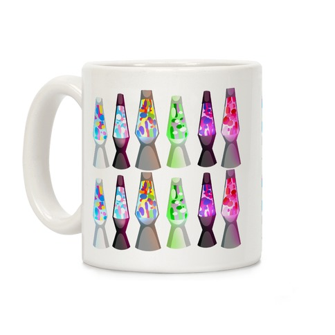 LGBTQ+ Lava Lamp Pattern Coffee Mug