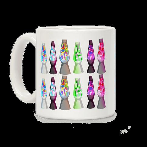 LGBTQ+ Lava Lamp Pattern Coffee Mug