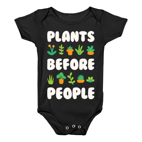 Plants Before People Baby Onesy