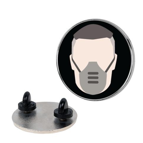 Dr. Zed Minimal Portrait Pandora Citizens Pin