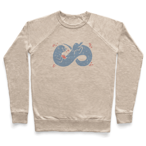 Infinity Otter  Pullover