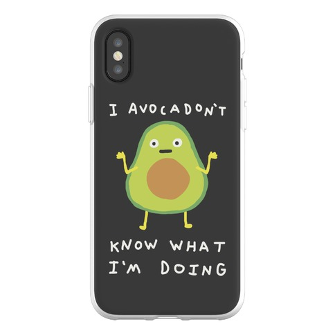 I Avocadon't Know What I'm Doing Phone Flexi-Case