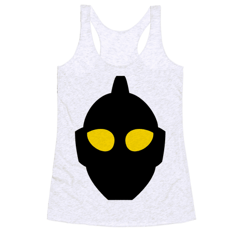 The Ultraman Head Racerback Tank Top