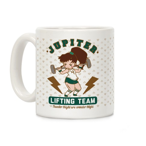 Jupiter Lifting Team Parody Coffee Mug