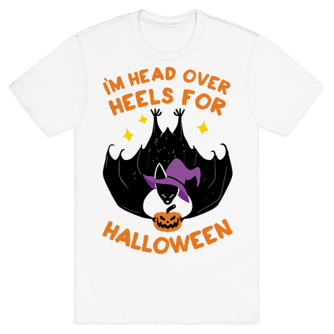 I'm Head Over Heels For Halloween Mens T-Shirt