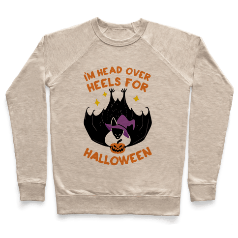 I'm Head Over Heels For Halloween Pullover