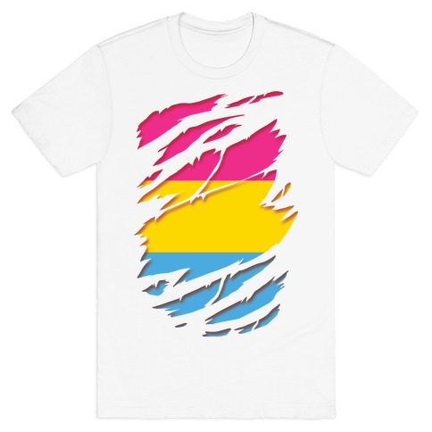 Ripped Shirt: Pan Pride T-Shirt