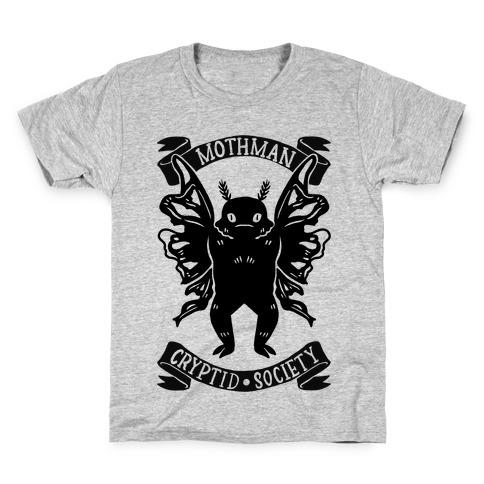 Mothman Cryptid Society Kids T-Shirt