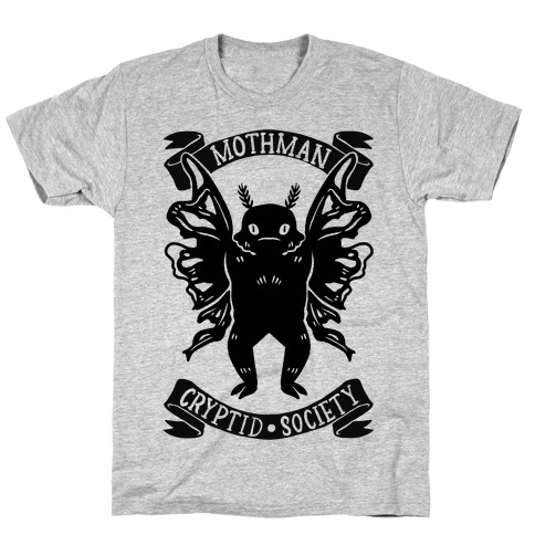 Mothman Cryptid Society T-Shirt