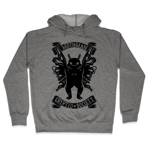 Mothman Cryptid Society Hooded Sweatshirt